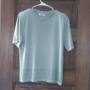 Alfred Dunner short sleeve sweater